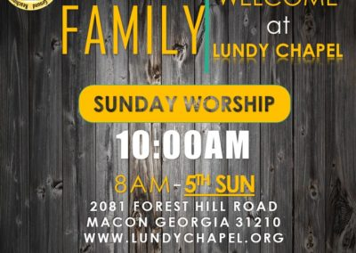 You're Welcome to Join Us Anytime for an Awesome Worship Experience!